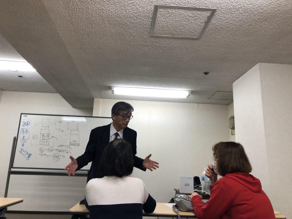 阪彰敏による講演・質疑応答